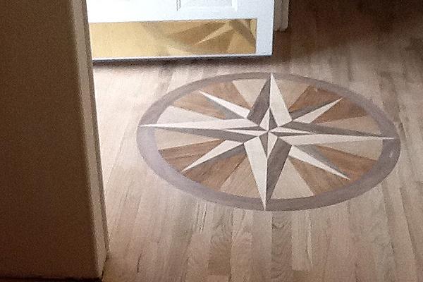 Laminate Floor Inlays : Photo gallery hardwood floors medalians inlays