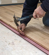 About Naildown Gluedown And Floating Hardwood Flooring